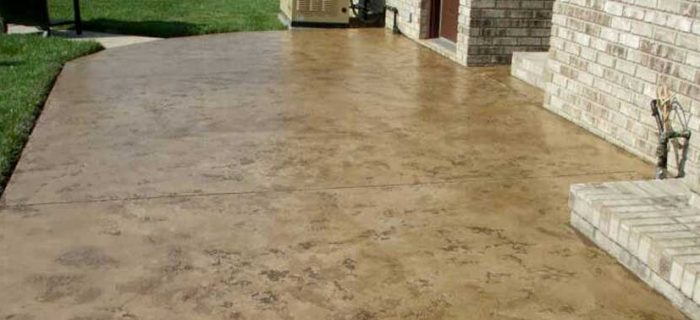 stained concrete fort wayne, Virginia