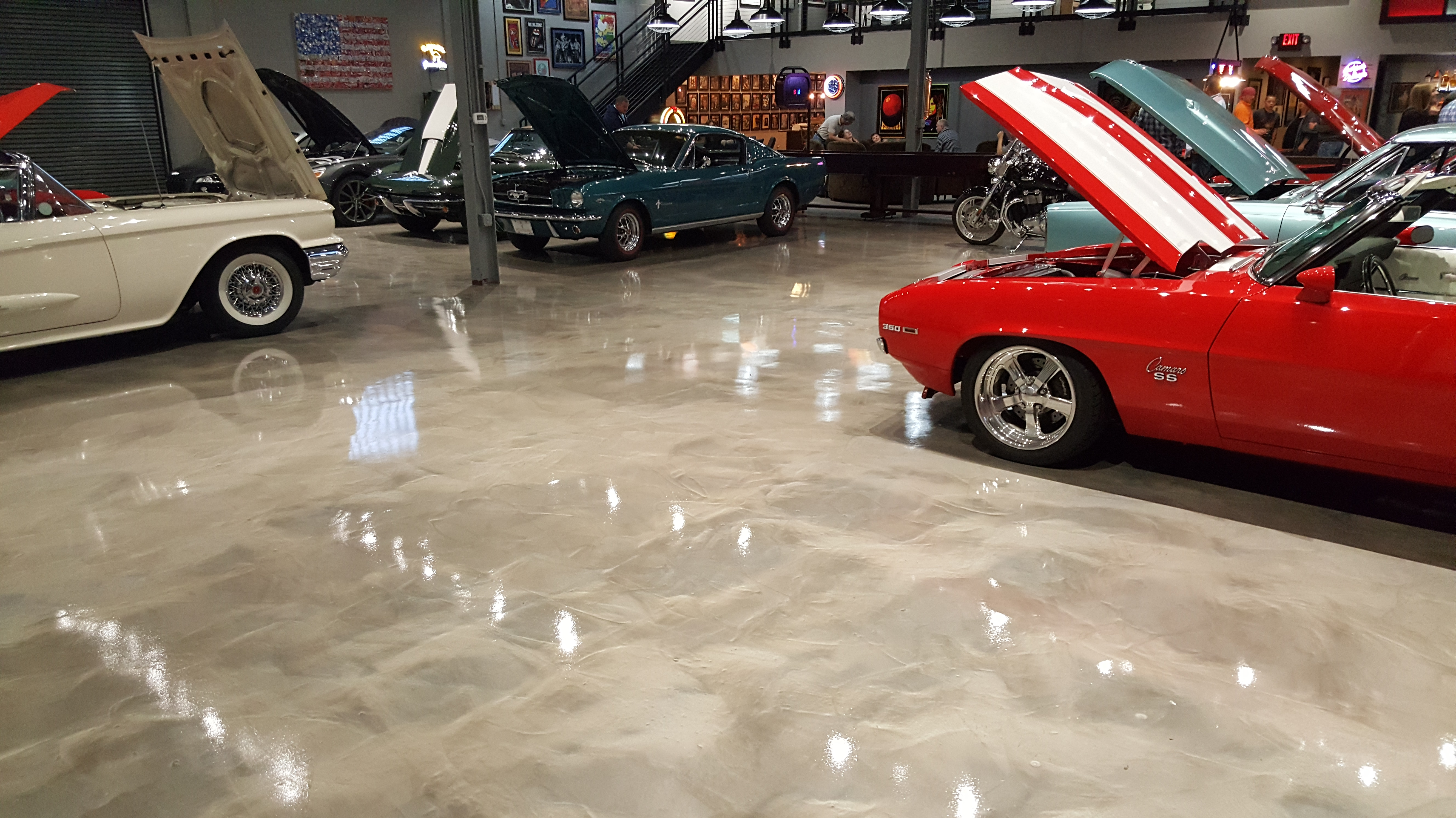 Metallic Epoxy Flooring Culpeper, Virginia