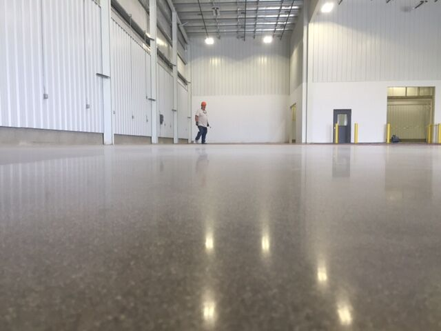 Polished Concrete Culpeper, Virginia
