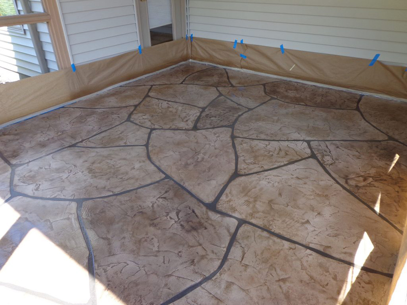 Grand Flagstone | Culpeper Virginia | Decorative Concrete Company