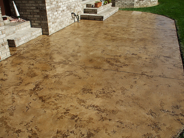 Slate Stained Concrete | Culpeper Virginia | Decorative Concrete Company