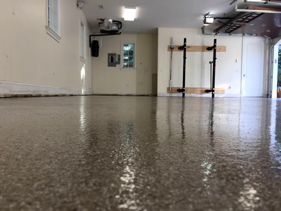 Graniflex  Concrete Resurfacing | Garage | Culpeper Virginia | Decorative Concrete Company